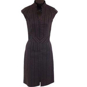 Le Chateau Office Dress w/Front Zipper- Sz. XS